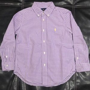 Boys  Ralph Lauren button down size 6